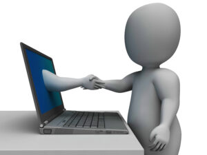 Customer-Service-300x225 Shaking Hands Through Computer Shows Online Deal