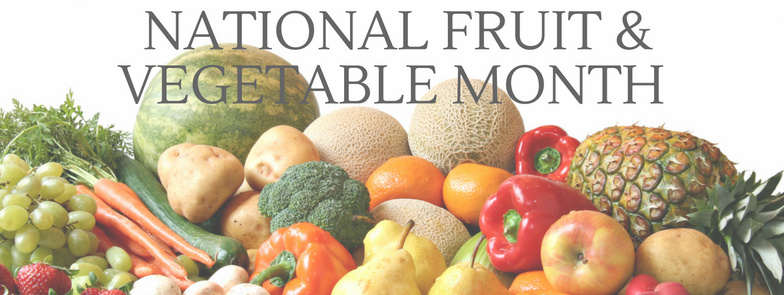 Fruit-Vegetable-Month National Fruits and Veggies Month