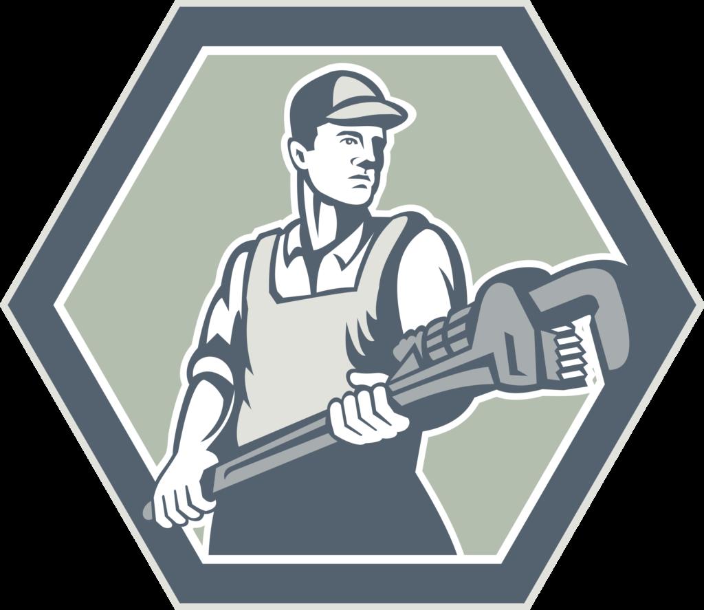 plumber-holding-plumbing-wrench-retro_7yBbTH_L-1024x887 Plumbing Contractors